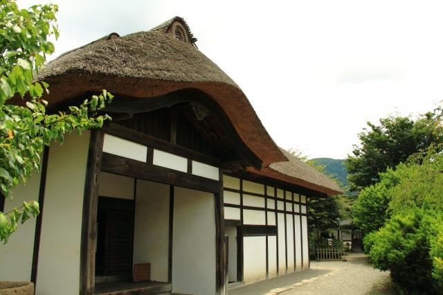 県の重要文化財「旧中畑陣屋」