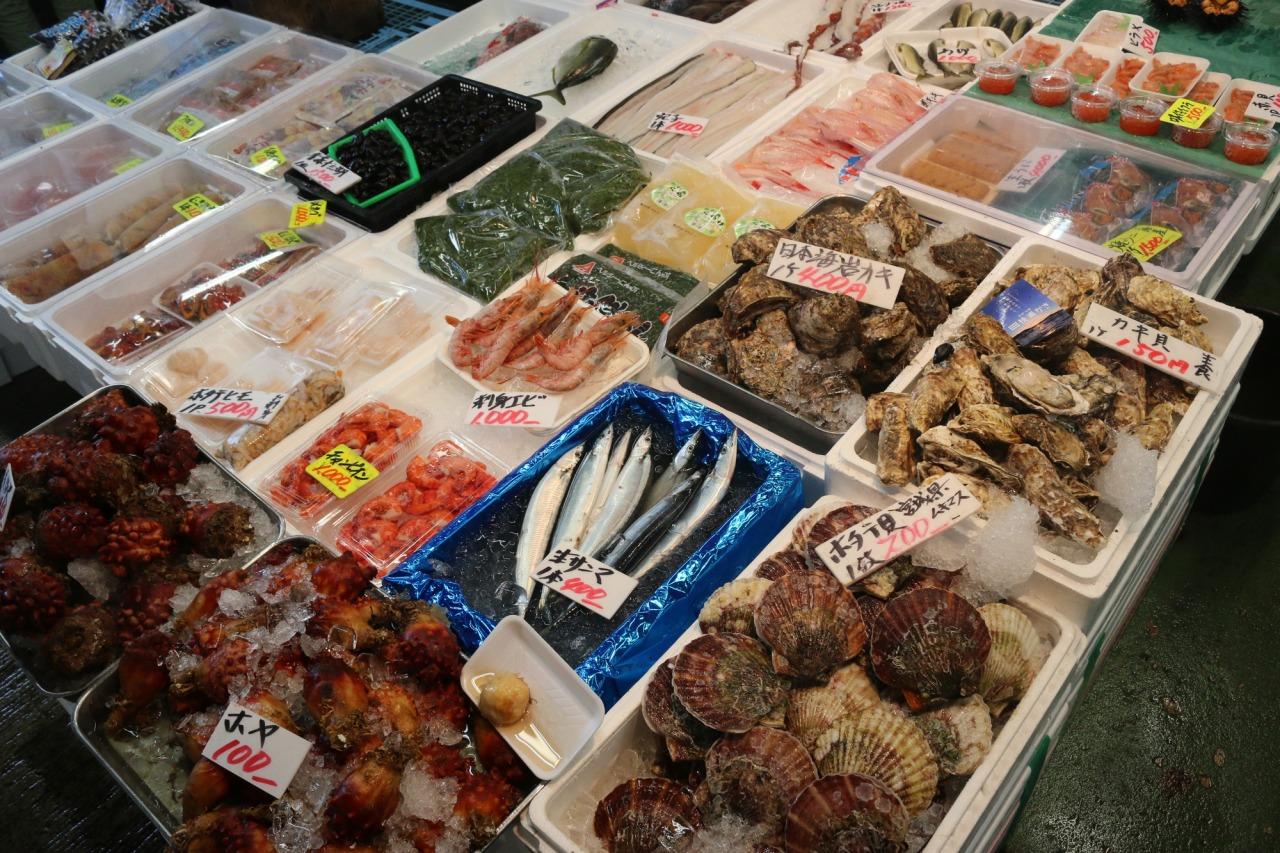 ตลาดปลามัตสึชิมะ