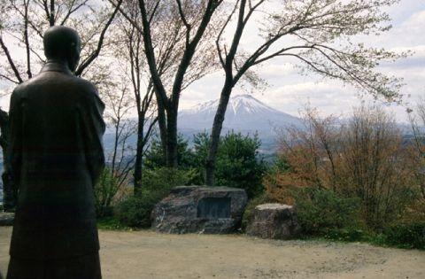 Hill of Takuboku nostalgia