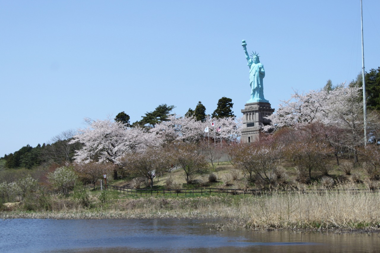 The best Statue of Liberty in Japan