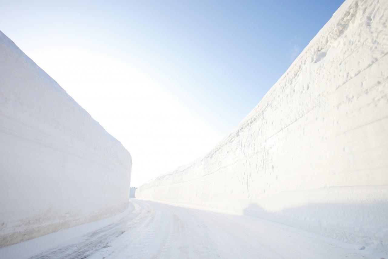 Hakkoda Snow Corridor