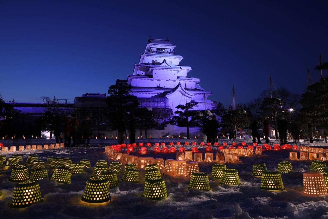 Aizu Erosoku Festival (Aizu Painted Candle Festival)