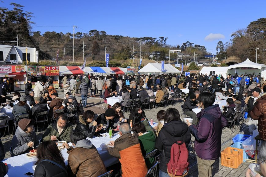 松島牡蠣祭