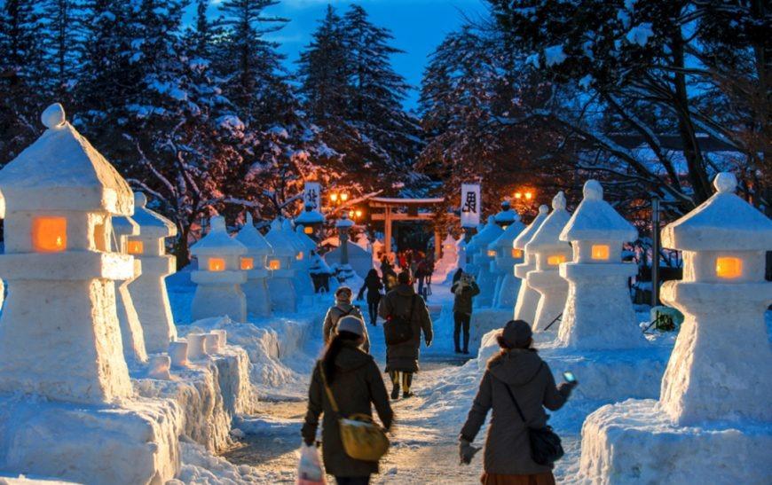 Uesugi Snow Lantern Festival