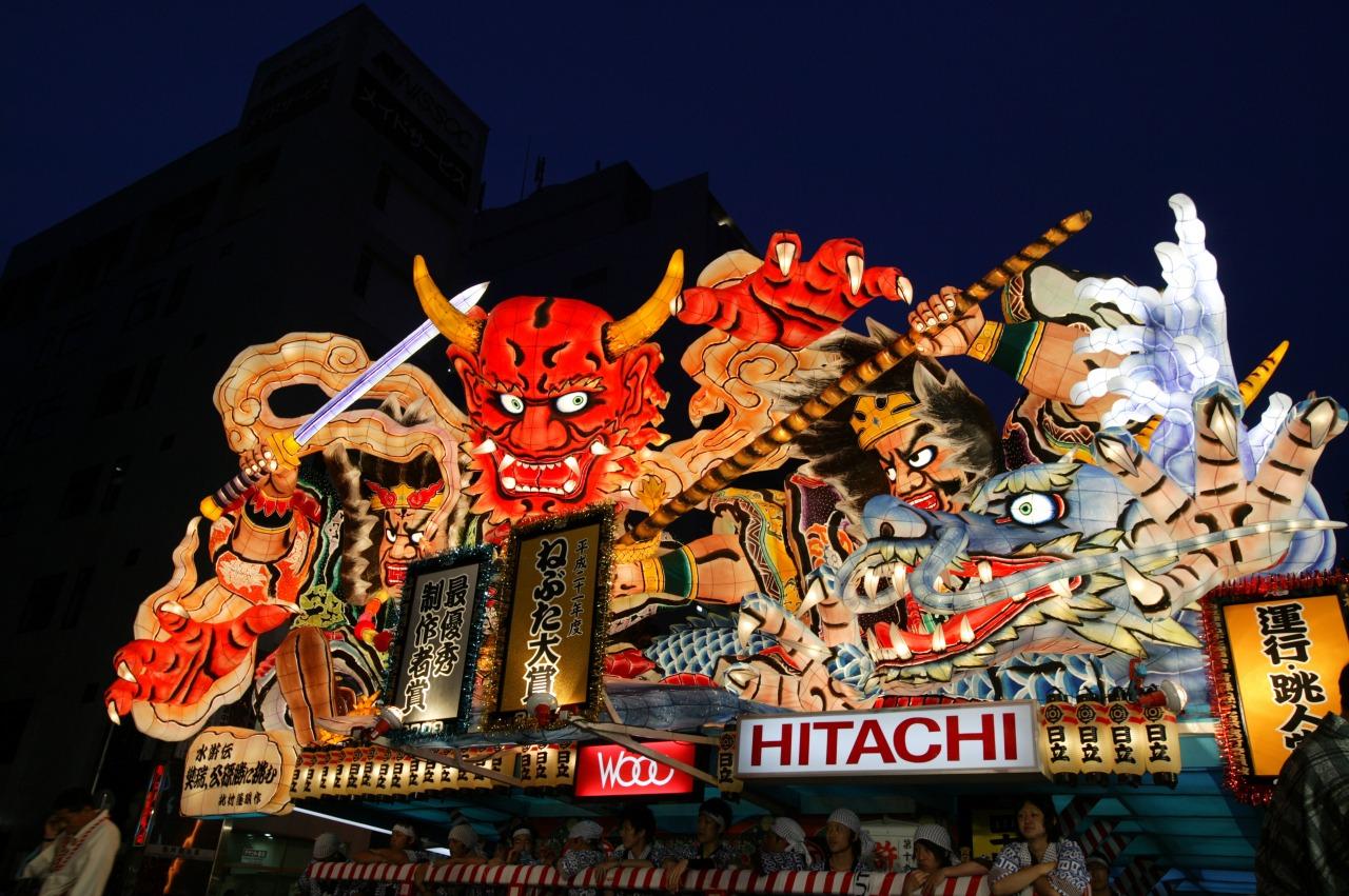 เทศกาลโคมไฟ อาโอโมริ เนบุตะ
