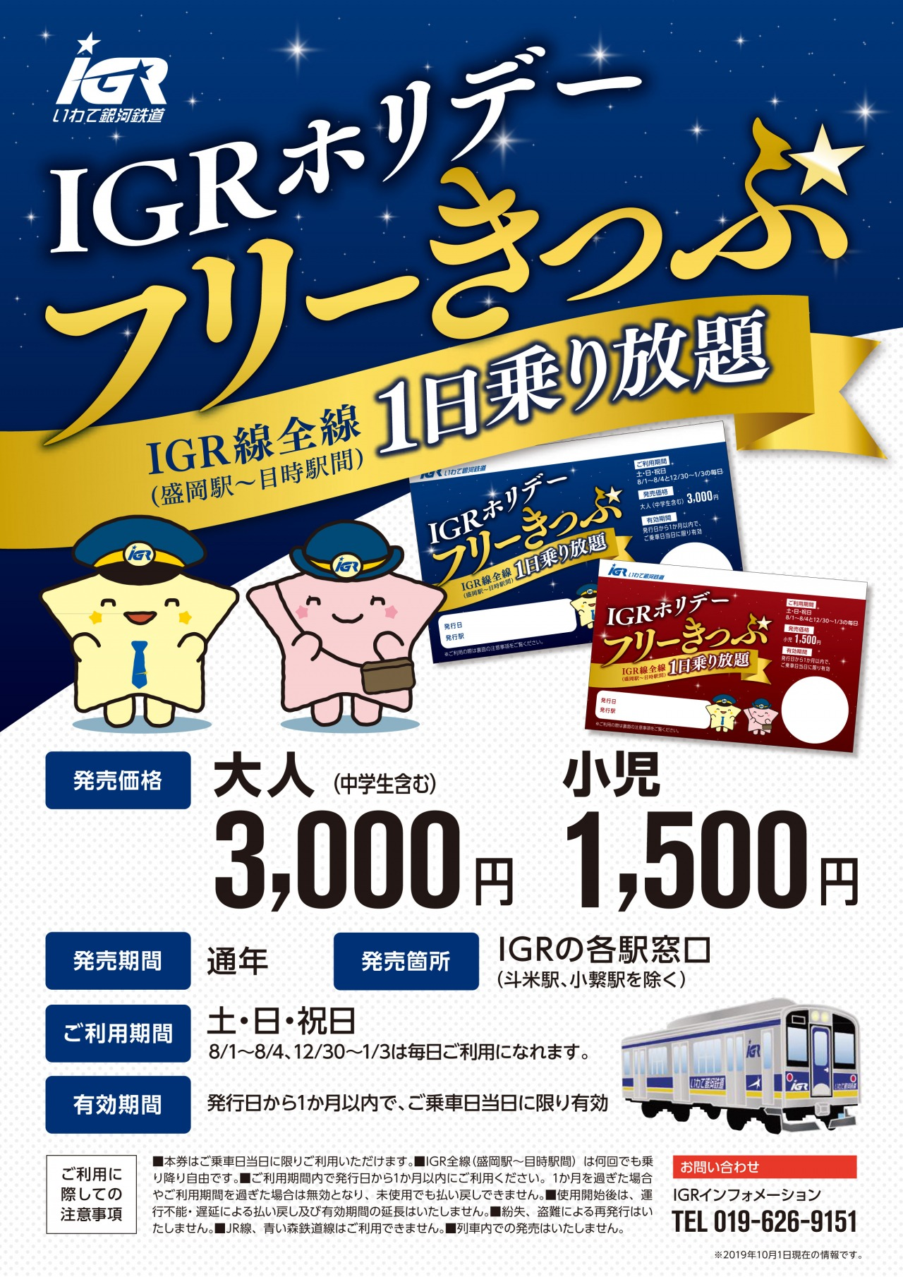 IGR Holiday Unlimited Ride Ticket