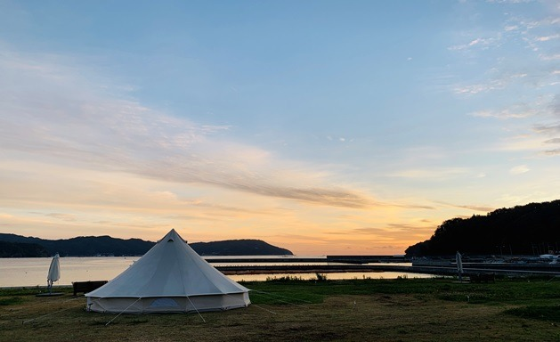 Glamping at Sanriku Geopark! Savor Barbecued Seafood and Mountain Delicacies
