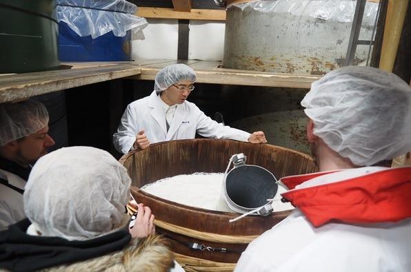"""Visit the Washinoo Sake Brewery and See a """"Tamawari"""" (Adding Water to Sake) Demonstration"""
