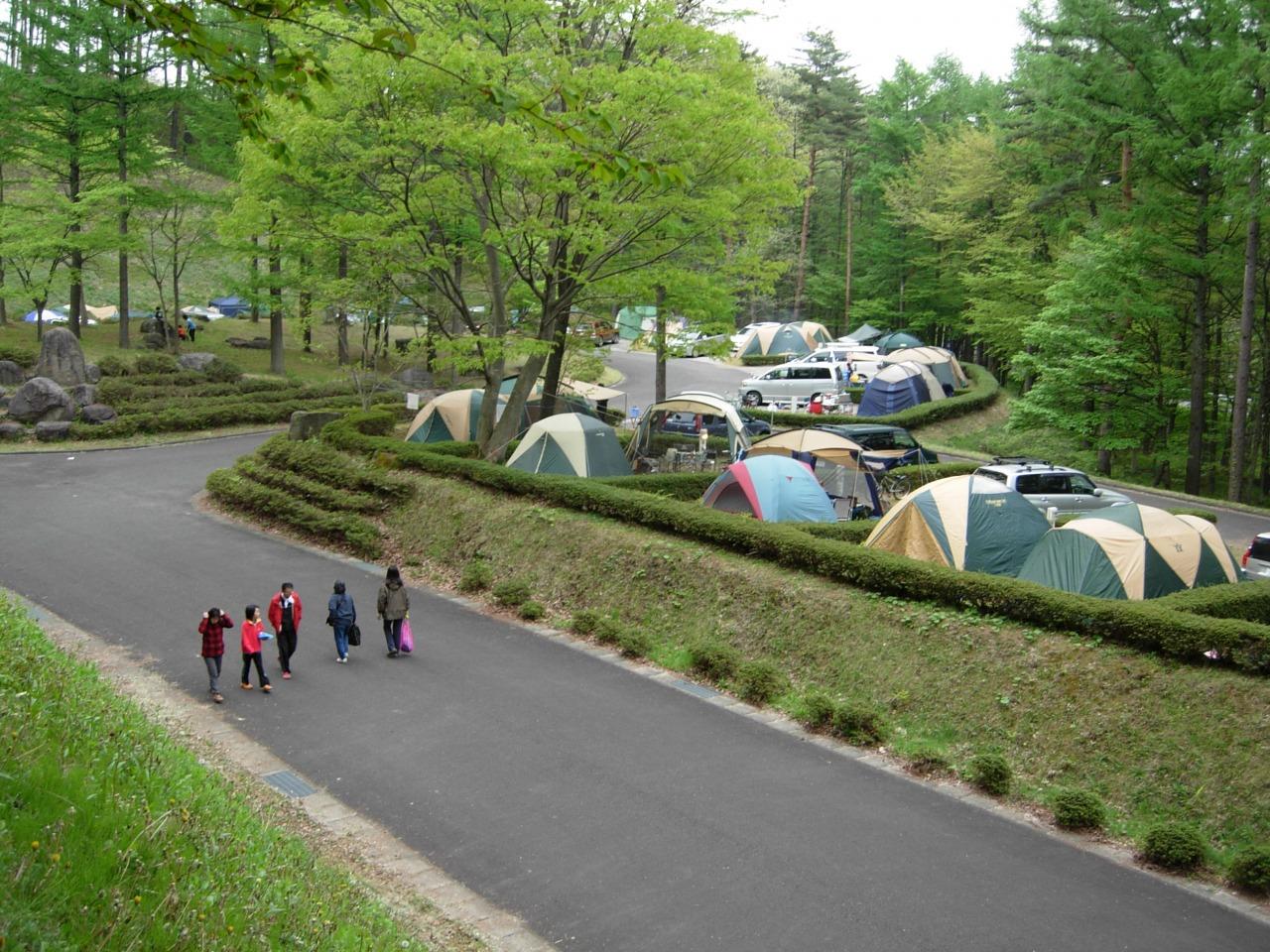 キャンプ 長沼