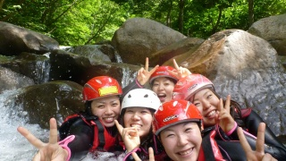 宮城の大自然を満喫‼仙台市秋保の二口渓谷シャワークライミングツアー